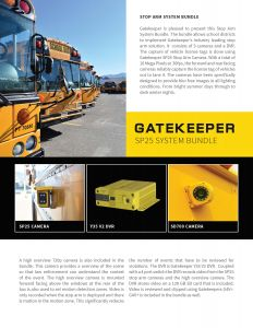 SP25 Stop Arm Camera System - Gatekeeper Systems