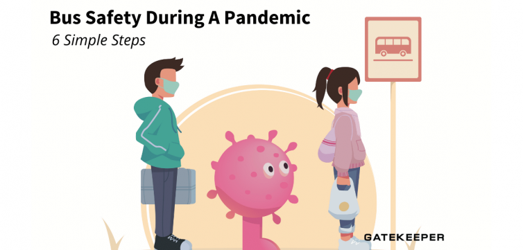 Copy of Copy of Copy of Copy of Bus Safety During A Pandemic - 6 Easy Steps