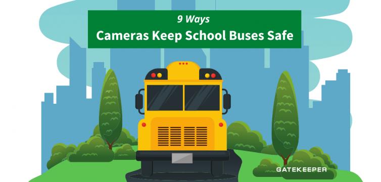 9 ways cameras keep school buses safe